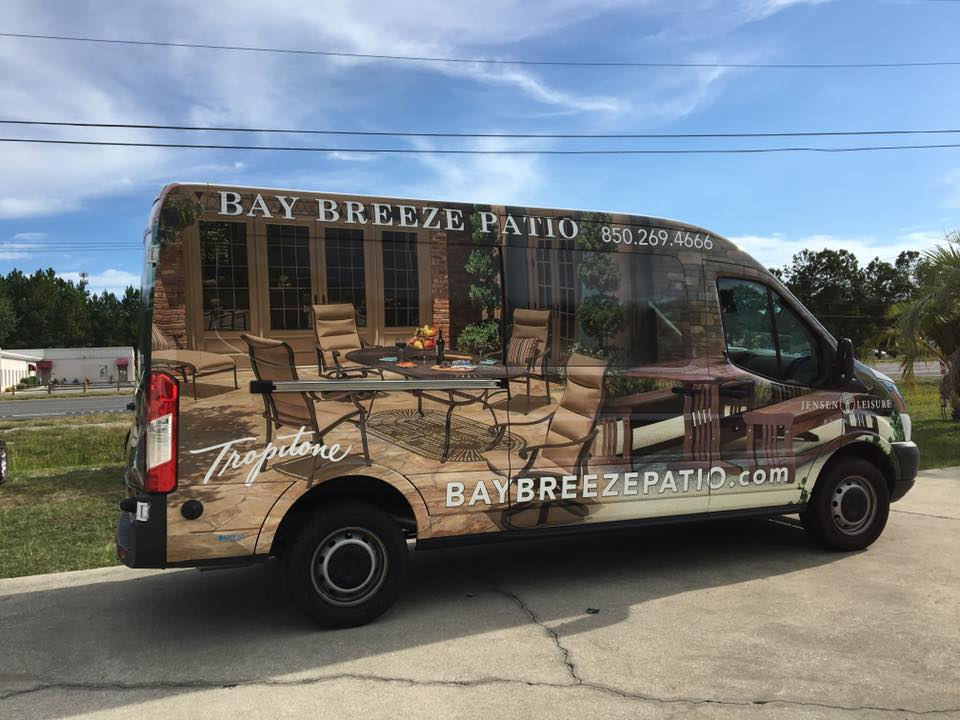 Bay Breeze Patio Wrap Destin Florida
